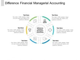 Difference Financial Managerial Accounting Ppt Powerpoint Presentation Slides Cpb