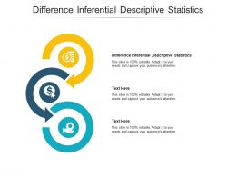 Difference Inferential Descriptive Statistics Ppt Powerpoint Presentation Layouts Mockup Cpb