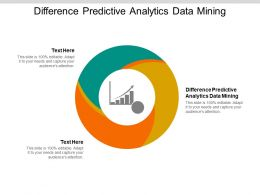 Difference Predictive Analytics Data Mining Ppt Powerpoint Presentation Icons Cpb