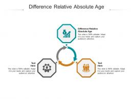 Difference Relative Absolute Age Ppt Powerpoint Presentation File Microsoft Cpb