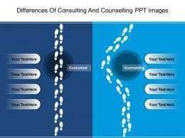 Differences Of Consulting And Counselling Ppt Images