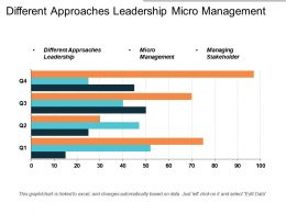 Different Approaches Leadership Micro Management Managing Stakeholders Cpb