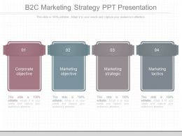Different B2c Marketing Strategy Ppt Presentation