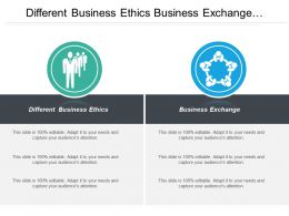 Different Business Ethics Business Business Exchange Product Development Cpb