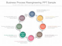 Different Business Process Reengineering Ppt Sample