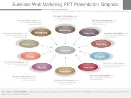 Different Business Web Marketing Ppt Presentation Graphics