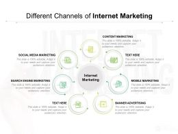 Different Channels Of Internet Marketing