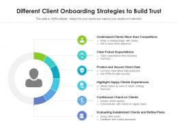 Different Client Onboarding Strategies To Build Trust