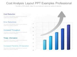 Different Cost Analysis Layout Ppt Examples Professional