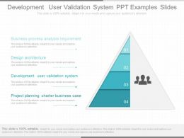Different Development User Validation System Ppt Examples Slides