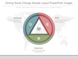 Different Driving Social Change Sample Layout Powerpoint Images