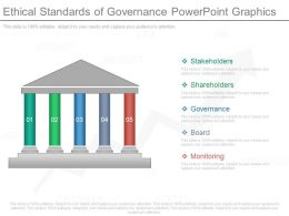 Different Ethical Standards Of Governance Powerpoint Graphics