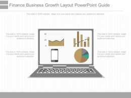 Different Finance Business Growth Layout Powerpoint Guide