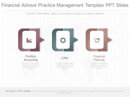 Different Financial Advisor Practice Management Template Ppt Slides