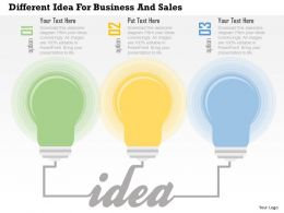 different_idea_for_business_and_sales_flat_powerpoint_design_Slide01
