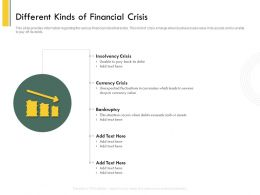 Different Kinds Of Financial Crisis Drop Ppt Powerpoint Presentation Pictures