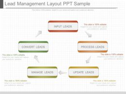 Different Lead Management Layout Ppt Sample