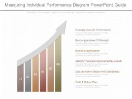 Different Measuring Individual Performance Diagram Powerpoint Guide