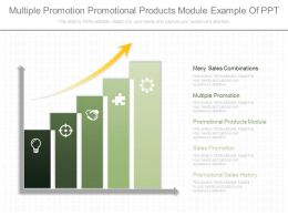 Different Multiple Promotion Promotional Products Module Example Of Ppt