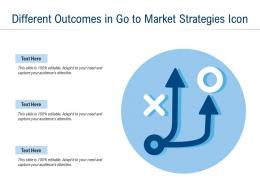 Different Outcomes In Go To Market Strategies Icon