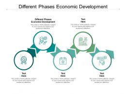Different Phases Economic Development Ppt Powerpoint Presentation Professional Example Cpb