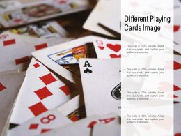 Different Playing Cards Image