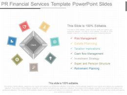 Different Pr Financial Services Template Powerpoint Slides