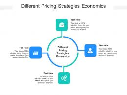 Different Pricing Strategies Economics Ppt Powerpoint Presentation Inspiration Sample Cpb