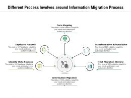 Different Process Involves Around Information Migration Process