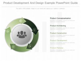 Different Product Development And Design Example Powerpoint Guide