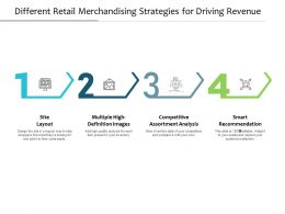 Different Retail Merchandising Strategies For Driving Revenue