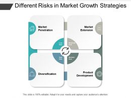 Different Risks In Market Growth Strategies