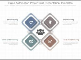 Different Sales Automation Powerpoint Presentation Templates