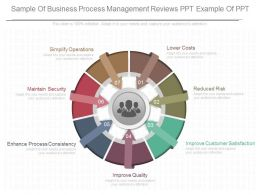Different Sample Of Business Process Management Reviews Ppt Example Of Ppt