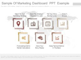 Different Sample Of Marketing Dashboard  Ppt  Example