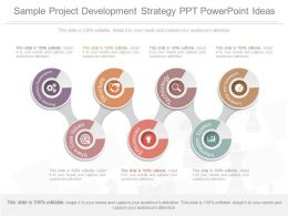 Different Sample Project Development Strategy Ppt Powerpoint Ideas
