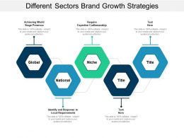 Different Sectors Brand Growth Strategies