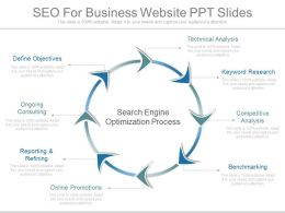 Different Seo For Business Website Ppt Slides