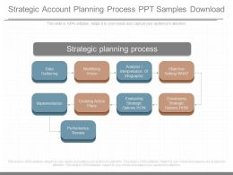 Different Strategic Account Planning Process Ppt Samples Download