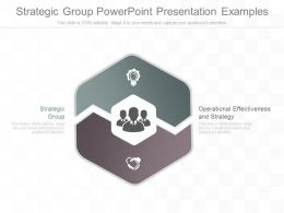 Different Strategic Group Powerpoint Presentation Examples