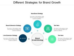 Different Strategies For Brand Growth