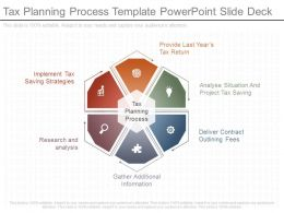 Different Tax Planning Process Template Powerpoint Slide Deck