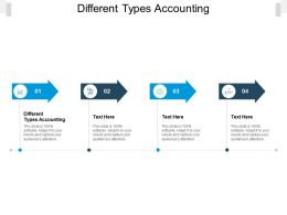 Different Types Accounting Ppt Powerpoint Presentation Template Outline Cpb