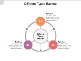 Different Types Backup Ppt Powerpoint Presentation Outline Layout Cpb