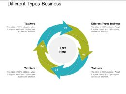 Different Types Business Ppt Powerpoint Presentation Design Ideas Cpb