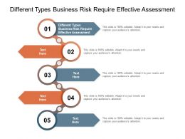 Different Types Business Risk Require Effective Assessment Ppt Powerpoint File Cpb