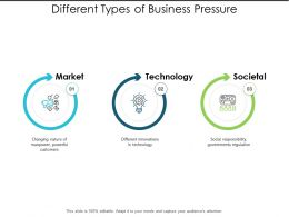 Different Types Of Business Pressure