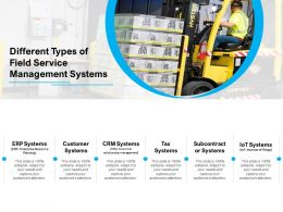 Different Types Of Field Service Management Systems