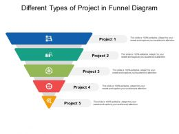 Different Types Of Project In Funnel Diagram