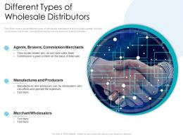 Different Types Of Wholesale Distributors